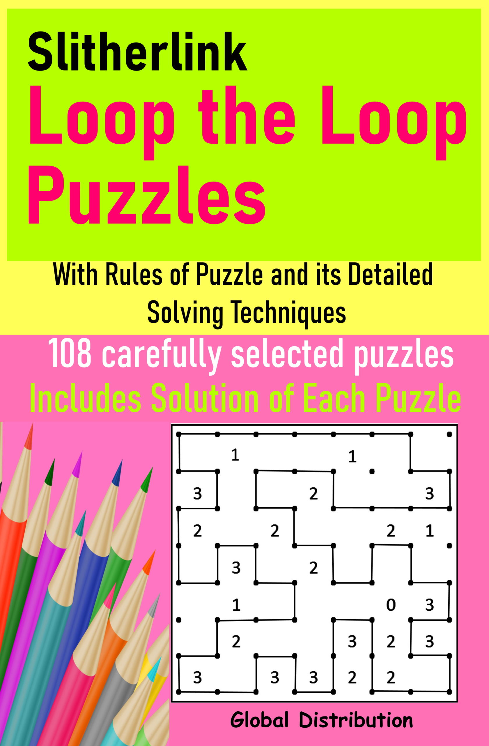 slither link loop the loop puzzles